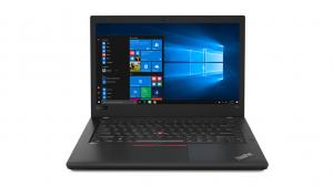 Lenovo ThinkPad T480s to procesor Core i5 ósmej generacji, 14 cali ekranu, czytnik kart pamięci, system operacyjny Windows 10, matowa matryca, 8 giga pamięci ram, 256 giga na dysku SSD, jakość Full HD, jeden port HDMI, cztery porty typu USB, wbudowany mikrofon, niska masa własna i pojemna bateria
